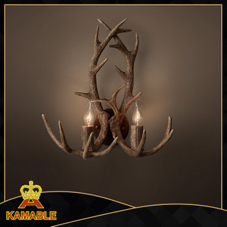 Antique Home Decorative Wall Lamp (KM0261W-2)