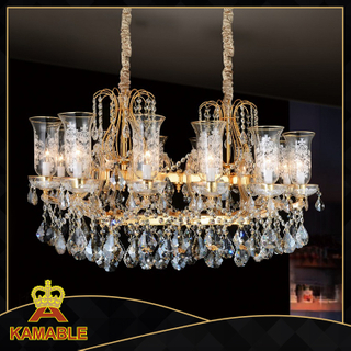 Maria Theresa style lobby crystal chandelier(MD9841-12)