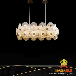 Project Modern Decoration Handmade Glass Pendant Lamp (KAMD83004/36+4)
