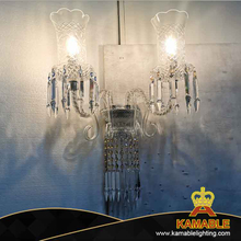 Villa design french decorative crystal wall light (KAME02)