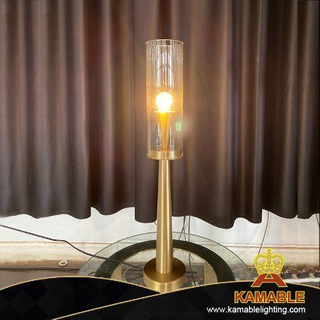 Home Lighting with Unique Lampbody Glassshade Table Lamp(VPD010)