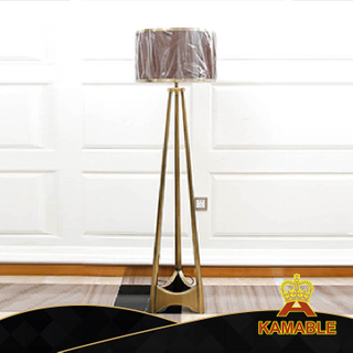 Simple Style Antique Golden Studyroom Interior Floor Lamp (KA530-F)