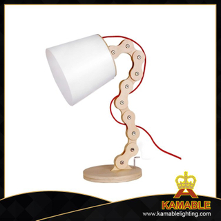 Modern design wood desk lamp for home (LBMT-LT)