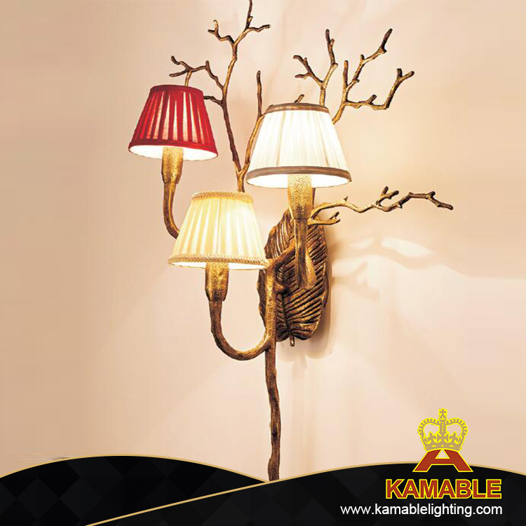 Luxurious Hotel Project Brass Wall Lighting (KAGW3123-3)