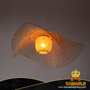 New creative shape bamboo pendant light (KAPLP-ZS112)