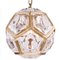 Special interior design crystal square pendant lighting( 1634D18)