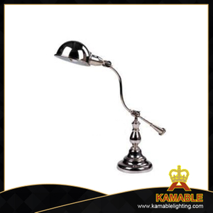 Nice Silver Decorative Curved Table Lamp Industry Lamp (MT4050)