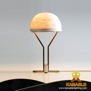 Concise Hemisphere Decoration Iron Body Table Lighting (KJ017)