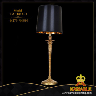 Interior decorative black table lighting (TA-1013-1)
