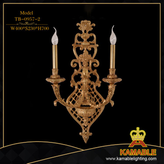 Hotel luxury brass wall lamp (TB-0957-2)