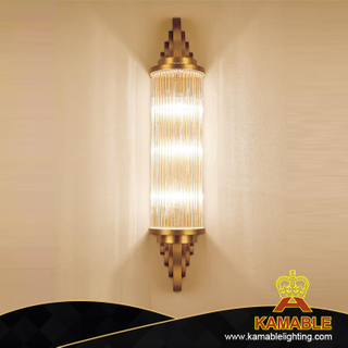 Hotel Project Stainless Steel Glass Wall Light (KAGW5677)