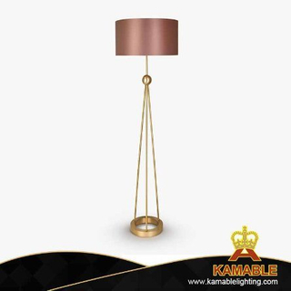 Golden Metal Modern Floor Lamp for Hotel Project (KPL1818)
