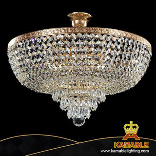 Home decorative crystal ceiling chandelier(CL 5272/5 FGD+WT)
