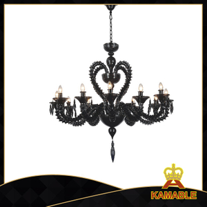 Hanging pendant clear glass Murano chandelier(80101-12)
