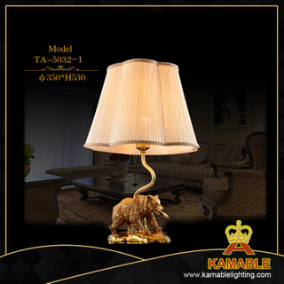 Living room Luxury animal table lamp (TA-5032-1)
