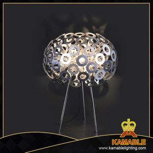 Decorative interior modern alummium table lights (726T )