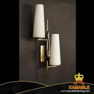 Modern Chrome Metal Wall Lamp for Decorative (KPL1815)