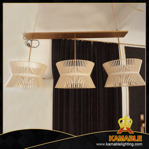 Dining room modern wooden pendant lighting (PS-301)