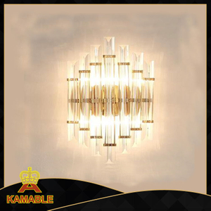 Good Stailess Steel Modern crystal Wall Light (KAW17-066)