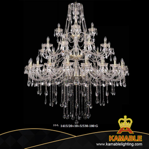 Classical Decorative Crystal Pendant Lights (1415/20+10+5/530-180 G)