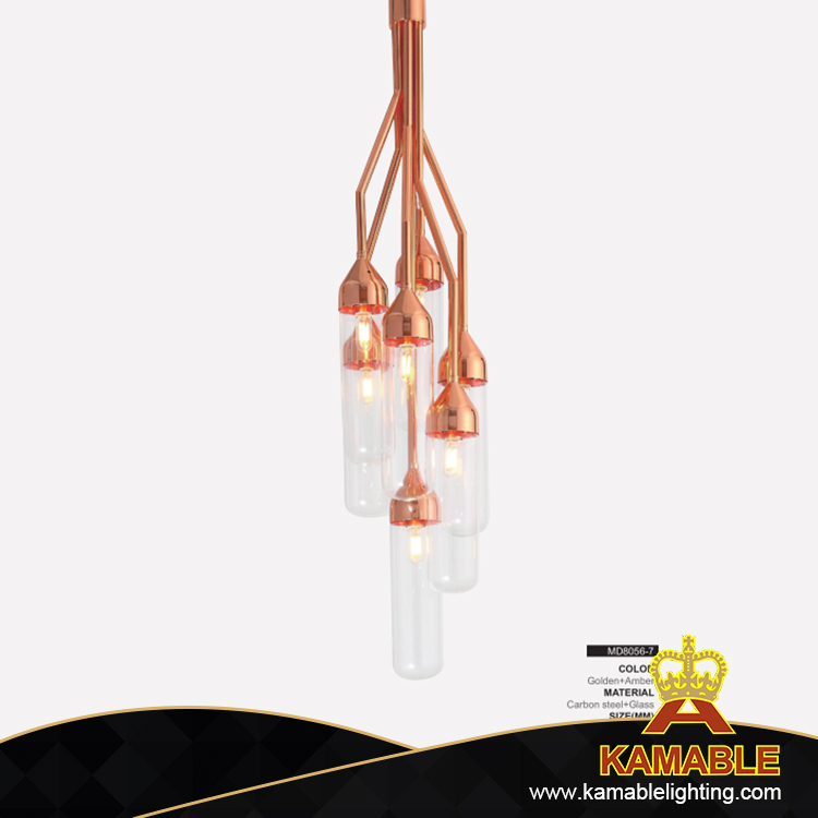 Murano home kitchen decorative glass pendant lighting (MD8056-7)