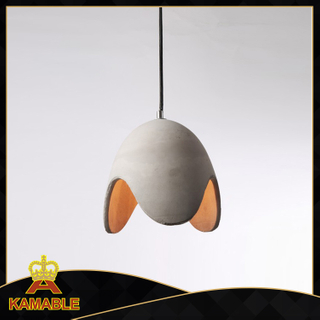 Simple style cement decorative hotel pendant lamp (KC142P-1)