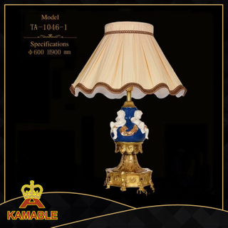 European Style Angel Ceramic Table Lamps For Home Decor (TA-1046-1)