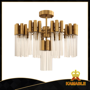 Lobby luxury art light Atmosphere pendant light(GD18135P-D550)