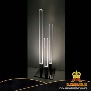 Indoor Metal Glass Decorative Floor Lamp (KPL1809)
