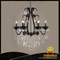 Modern black crystal chandelier(1476-6L black)