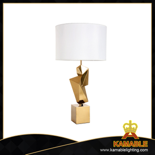 Hotel Use Art Decoration stainless steel Table Lamp (TL3106-GD)