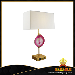 Interior decorative brass Agate table lighting (TL3049)