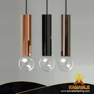 Simple Design Metal Hanging Pendant Lamp (KPL1816)