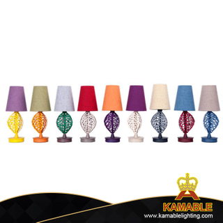 Modern Hotel ABS Leaf Steel Table Lamp (KA001-B-01-01)