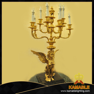 Magnificent design indoor decorative retro table lamps(C102G)
