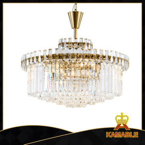 Modern dining room traditional decoration crystal chandelider (GD18173P-D800)