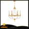 Manufacturer Living Room Brass Glass Chandelie (KA9010-6)